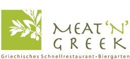 Meat n Greek Restaurant Logo